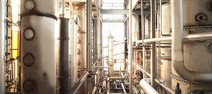 industrial alcohol distilleries